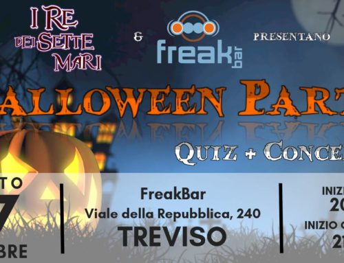 Vi aspettiamo al Freak Bar con Halloween Party: quiz interattivo e concerto!