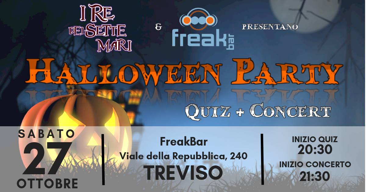 Halloween Party al Freak Bar Treviso